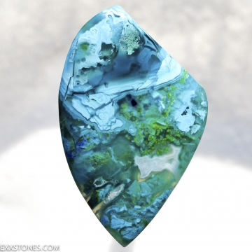 Old Stock Morenci Mine Gem Silica Chrysocolla Malachite Azurite Cabochon Hand Crafted By Lexx Stones 70 Carats
