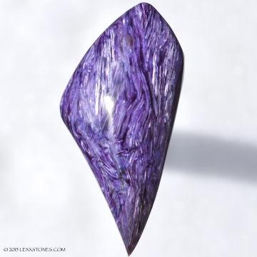 CHAROITE - Murunskii Massif, between the Charo and Tokko Rivers, Aldan Shield, Yakutia (Siberia), Russia