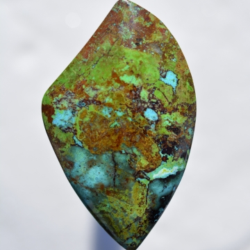 Parrot Wing Chrysocolla - Frisby Claim, Arizona