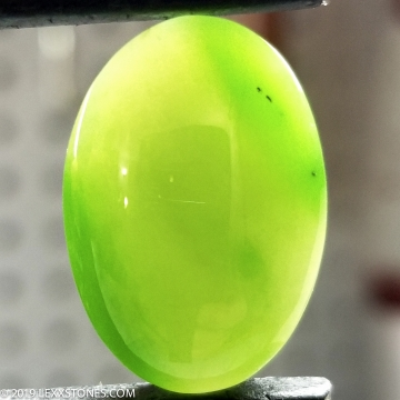 High Grade Siberian Nephrite Jade  Gemstone Cabochon Hand Crafted by LEXX STONES 26 Carats