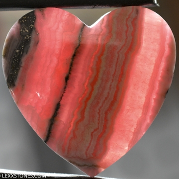 Natural Argentinian Rhodochrosite Gemstone Cabochon Hand Crafted By LEXX STONES 87 Carats