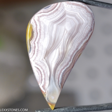 Natural Old Stock Laguna Lace Agate Gemstone Cabochon Hand Crafted By LEXX STONES 71 Carats